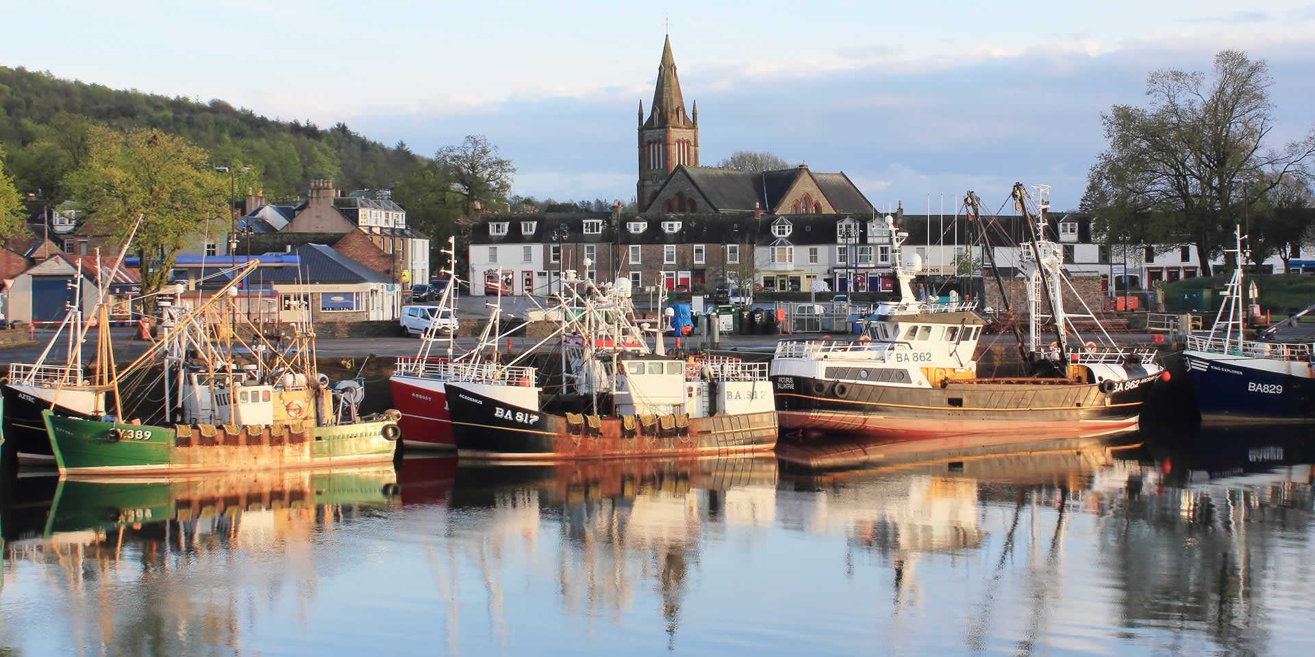 Kirkcudbright Harbour © Barry Russell